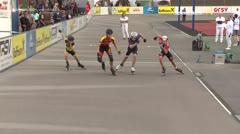 MediaID=39507 - 14.Int SpeedskateKriterium/Europacup Wörgl - Cadet men, 500m semifinal1