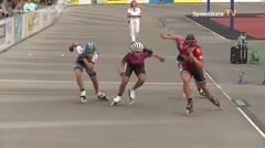 MediaID=39508 - 14.Int SpeedskateKriterium/Europacup Wörgl - Senior women, 500m semifinal1