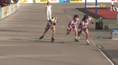 MediaID=39512 - 14.Int SpeedskateKriterium/Europacup W - Junior women, 500m quaterfinal3