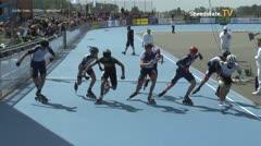 MediaID=39564 - Flanders Grand Prix 2019 - Junior men, 1000m semifinal1