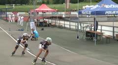 MediaID=39710 - Int SpeedskateKriterium/Europacup W - Cadet women, 500m heat1
