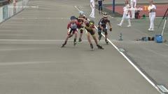 MediaID=39711 - Int SpeedskateKriterium/Europacup W - Cadet women, 500m heat4