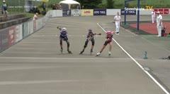 MediaID=39712 - Int SpeedskateKriterium/Europacup W - Cadet women, 500m heat1