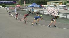 MediaID=39715 - Int SpeedskateKriterium/Europacup W - Cadet men, 500m heat1