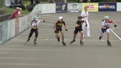 MediaID=39717 - Int SpeedskateKriterium/Europacup W - Cadet women, 500m heat5