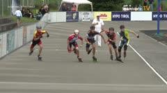 MediaID=39719 - Int SpeedskateKriterium/Europacup W - Junior men, 500m heat2