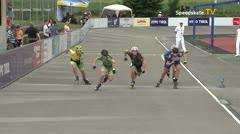 MediaID=39720 - Int SpeedskateKriterium/Europacup W - Junior Ladies, 500m heat1