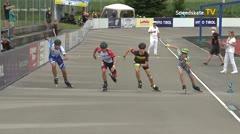 MediaID=39721 - Int SpeedskateKriterium/Europacup W - Junior men, 500m heat7