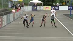 MediaID=39724 - Int SpeedskateKriterium/Europacup W - Junior Ladies, 500m heat2