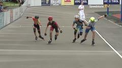 MediaID=39726 - Int SpeedskateKriterium/Europacup W - Cadet men, 500m heat3