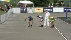 MediaID=39727 - Int SpeedskateKriterium/Europacup W - Junior men, 500m heat4
