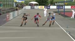 MediaID=39728 - Int SpeedskateKriterium/Europacup W - Junior men, 500m heat3
