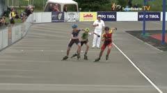 MediaID=39730 - Int SpeedskateKriterium/Europacup W - Junior men, 500m heat5