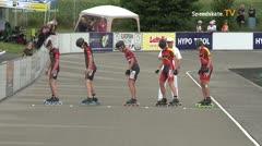 MediaID=39731 - Int SpeedskateKriterium/Europacup W - Junior Ladies, 500m heat6