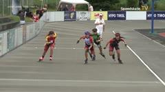 MediaID=39733 - Int SpeedskateKriterium/Europacup W - Junior Ladies, 500m heat4
