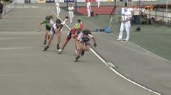 MediaID=39735 - Int SpeedskateKriterium/Europacup W - Junior Ladies, 500m heat4