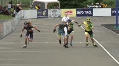 MediaID=39736 - Int SpeedskateKriterium/Europacup W - Junior Ladies, 500m heat3