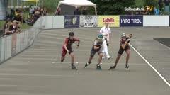 MediaID=39737 - Int SpeedskateKriterium/Europacup W - Junior Ladies, 500m heat1