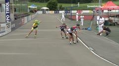 MediaID=39738 - Int SpeedskateKriterium/Europacup W - Junior Ladies, 500m heat2