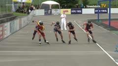 MediaID=39739 - Int SpeedskateKriterium/Europacup W - Junior men, 500m heat1