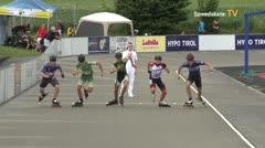 MediaID=39740 - Int SpeedskateKriterium/Europacup W - Junior men, 500m heat2