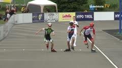 MediaID=39741 - Int SpeedskateKriterium/Europacup W - Junior men, 500m heat3