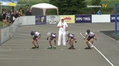 MediaID=39742 - Int SpeedskateKriterium/Europacup W - Senior women, 500m heat1