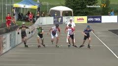 MediaID=39747 - Int SpeedskateKriterium/Europacup W - Senior men, 500m heat2