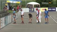MediaID=39748 - Int SpeedskateKriterium/Europacup W - Senior men, 500m heat3