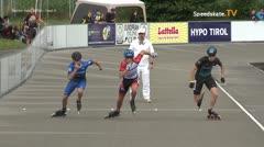 MediaID=39749 - Int SpeedskateKriterium/Europacup W - Senior men, 500m heat4